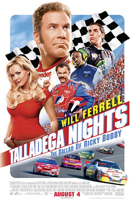 Talladega Nights: The Legend of Ricky Bobby (2006) Poster 2