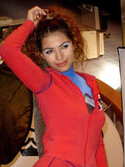 Comfot 2005 (laap mx) Tags: 2005 woman mexico mujer mexicocity df expo bodypaint wtc ciudaddemexico pintura corporal distritofederal maquillaje comfot