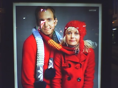 will arnett and amy poehler. Will Arnett/Amy Poehler Gap ad