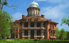 Old Longwood Postcard (sunnybrook100) Tags: mississippi natchez mansion antebellum longwood adamscounty nationaltrustforhistoricpreservation nrhp