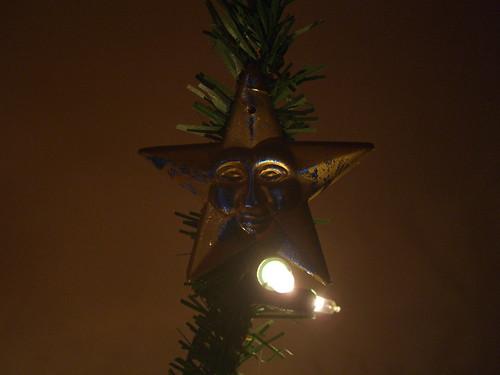 Evil Christmas Tree Star