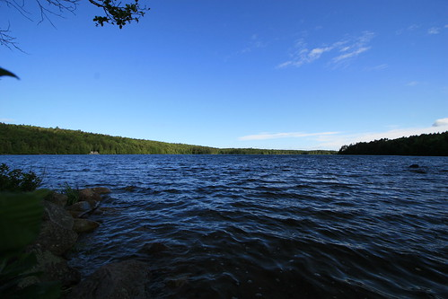 Lake Meets Sky