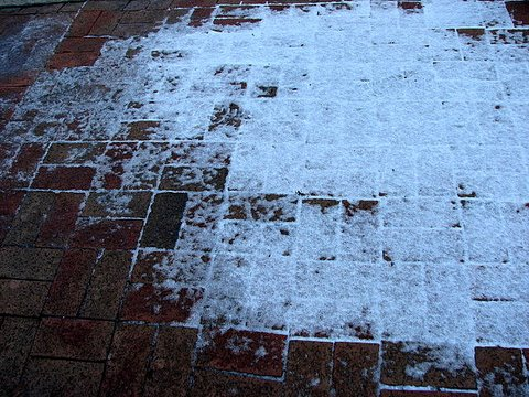 tile patterns and snow 230108