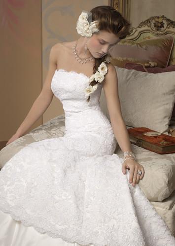 Strapless Alvina Valenta Wedding Gowns Style