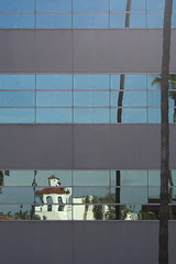 Fox Theater Reflected, Riverside, CA