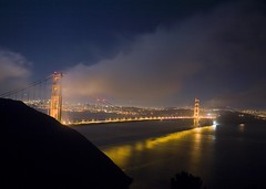 Golden Gater (Thomas Hawk) Tags: sanfrancisco california city bridge sky skyline night america san francisco view time fav50 10 marin great fav20 goldengatebridge marincounty fav30 marinheadlands fav10 fav25 fav40 superfave