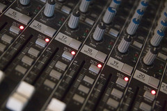 random11 (studio79) Tags: blue red 20d canon mix angle buttons board led rows sound tamron knobs audio f28 shallowdepthoffield sliders