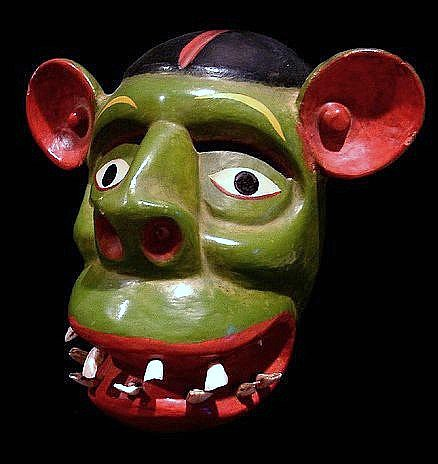 Mexican Maque Goblin Mask
