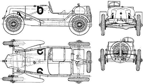 Flickriver tatrakodas photos tagged with blueprint guessed tatra t12 race car malvernweather Choice Image