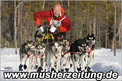 Rainer Galm & Husky-Team