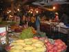 Night market near hotel