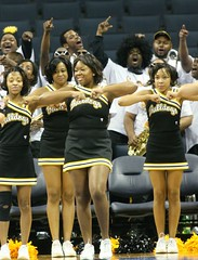 Bowie State University Cheerleaders (Kevin Coles) Tags: sports basketball bowie university cheerleaders charlotte tournament ncaa 2008 bulldogs bsu queencity divisionii hbcu ciaa bowiestate soulabration ciaatournament