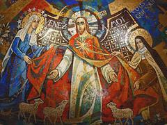 Lisieux Basilique Mosaic Ceiling