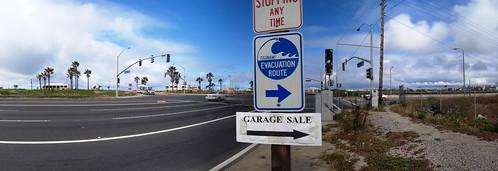 Near Huntington Beach, California, USA