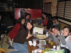 Group shot at the Nomihodai (jrkester) Tags: japan hirosaki 2008