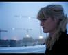 Reykjavik 7AM (Elsa Prinsessa) Tags: blue portrait selfportrait snow cold girl catchycolors lights iceland reykjavik cranes elsa mystique catchycolorblue elsaprinsessa elsabjörgmagnúsdóttir