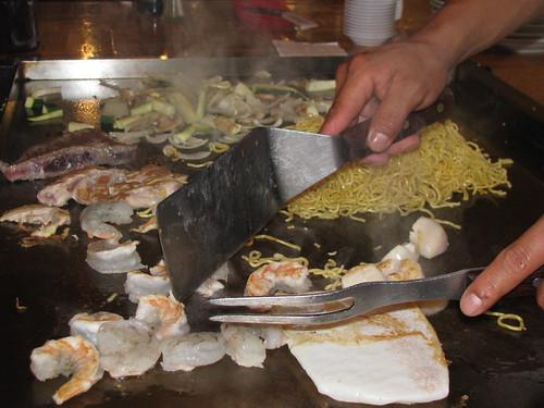 Dinner At Fujis