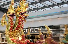 Very Bangkok (niveditak) Tags: india thailand golden airport bangkok gucci suvarnabhumi samudramanthan