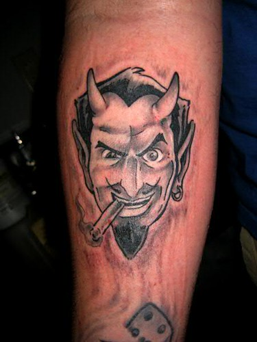 Coop Devil Tattoo Design