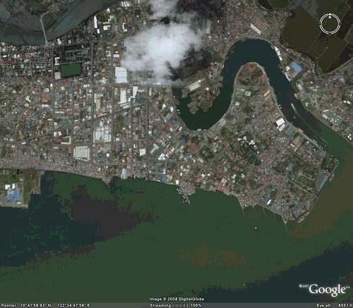 Google Earth Series Iloilo City Part Explore Iloilo - Iloilo city map