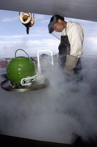 Refilling the Liquid Oxygen Converter