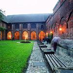 Monastery garden in St. John´s monastery