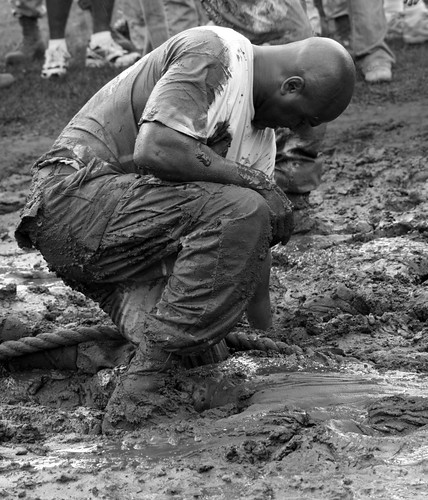 1stSgt after the tug of war B/W (ExPlOrEd!)