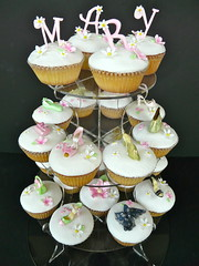 Birthday cupcakes ..... (abbietabbie) Tags: birthday party cake shoes explore cupcake surprise icing handbags fondant pashminas mexicanpaste