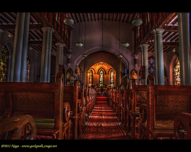 St. Stephens Church, Ooty (HDR)
