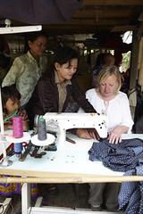 Deborah Meaden has a go (lendwithcare) Tags: with international bailey deborah care emilie entrepreneurs ccsf lend meaden