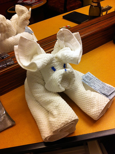 Carnival Splendor - Towel Animal - Puppy