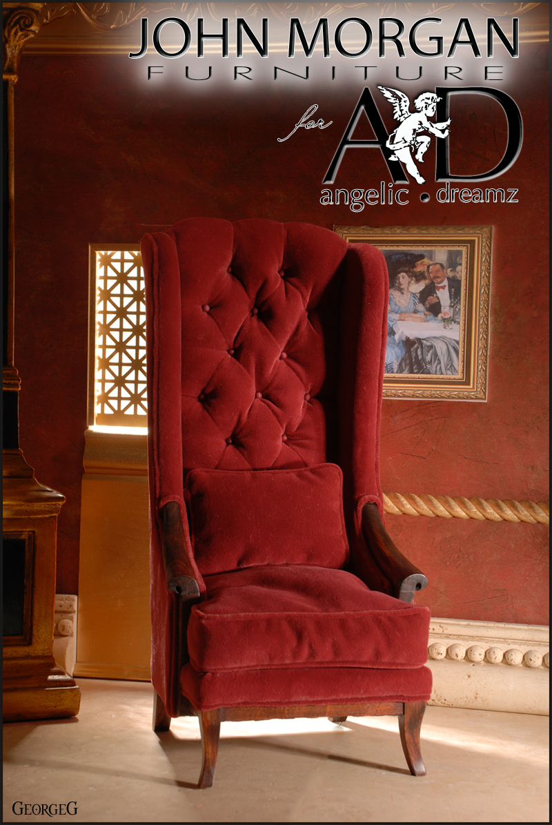 MORGAN CHAIR Red
