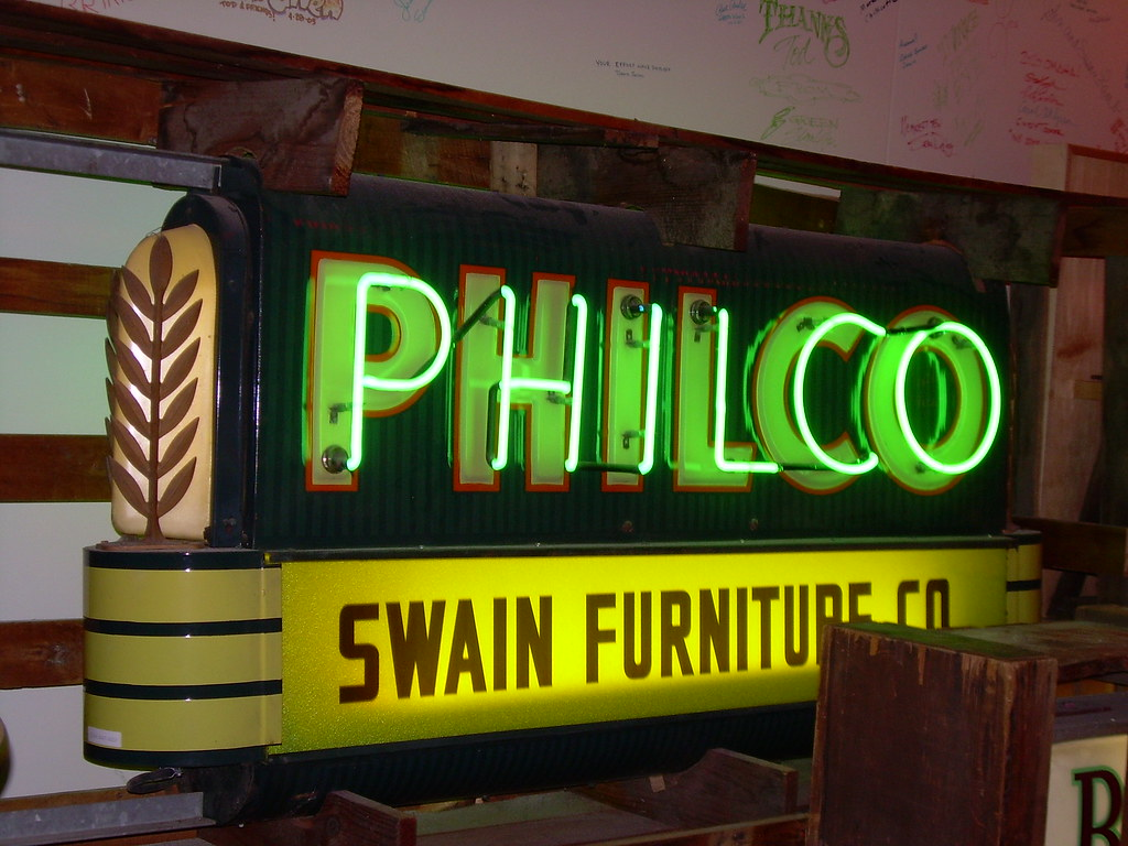 Philco Sign at the American Sign Museum