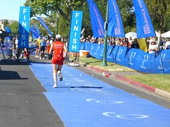 Hooray - the finish line
