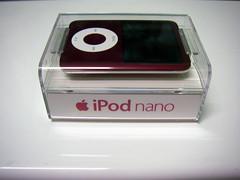 red iPod nano
