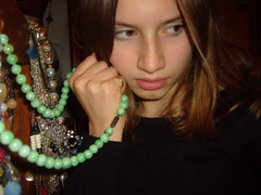Biting Back On Jade (Don't get it twisted <3) Tags: portrait necklace jade louisa lilu