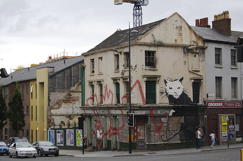 Banksy's house rat