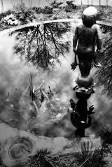 Fountain Child (reecardo-v) Tags: bwdreams blackribbonbeauty