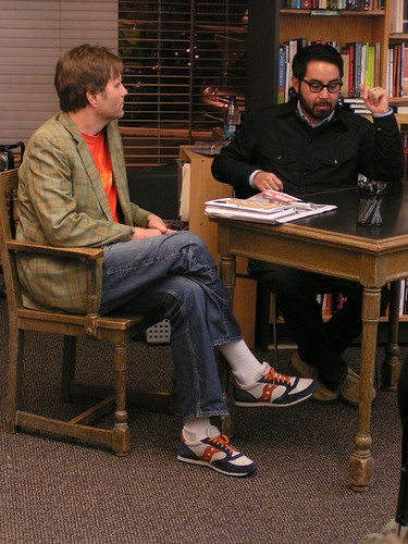 Eric Reynolds and Adrian Tomine, University Book Store, Seattle WA, 11/12/07