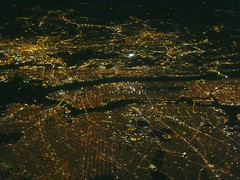 New York Lights (_YoYoH_) Tags: above new york city nyc bridge brooklyn night airplane island george washington football elizabeth shot stadium five manhattan united union sunday north aerial queens jersey astoria williamsburg giants boeing newark bergen edgewater hoboken secaucus fairview 757 staten ua weehawken rikers iadbos buroughs