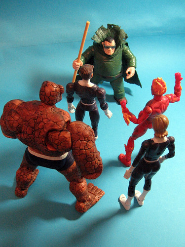 Mole Man vs. Fantastic Four