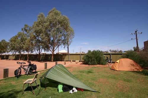 Cooper Pedy camp site...