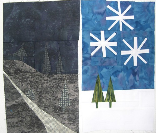Winter Diptych WIP