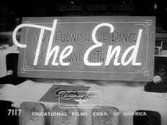 The End (Dill Pixels) Tags: old bw cinema film movie screenshot theend end title titles busterkeaton shortsubjects