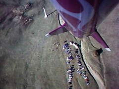 Nike Rocket Chaser (jurvetson) Tags: oregon video flight rocket loc launch lunar maiden strapon scientific videocam framegrab nar telstarlogistics snowranch milehighclub lunarorg hpr expediter atc2k