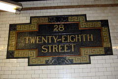 NYC - 28th Street Subway Station by wallyg, on Flickr