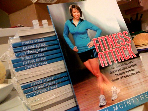 Fitness Attack Book (by Amy Mac) Arrived!
