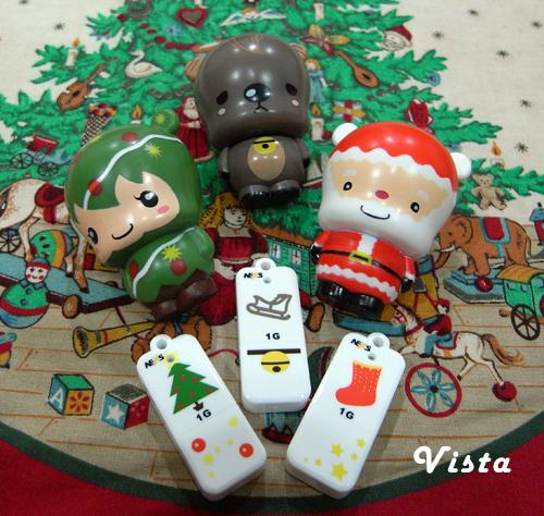 可愛的艾貝熊聖誕碟