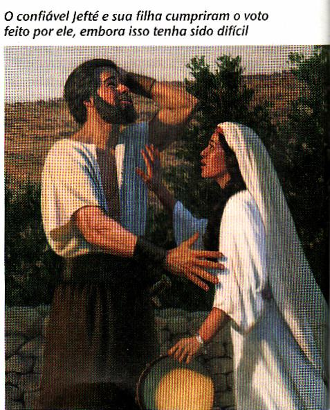 JEFTÉ, FILHA, HOLOCAUSTO, MATOU, ESTUDO BIBLICO, TEOLOGICO