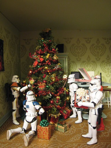 Stormtrooper Christmas Party